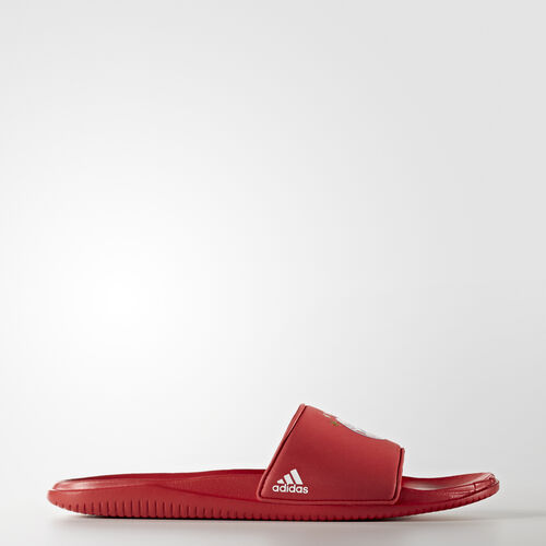 adidas - Chancla FC Bayern Football True Red/Footwear White AQ3793