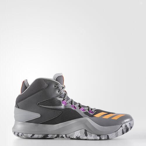 adidas - D Rose Dominate 4 Shoes Dark Grey Heather Solid Grey/Glow Orange/Solid Grey BB8180
