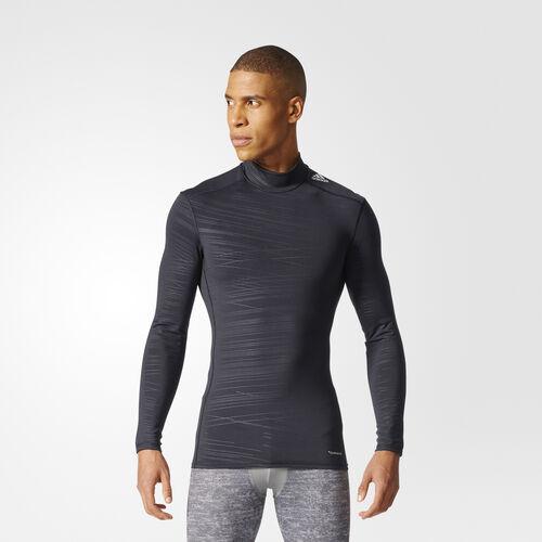 adidas - Techfit Climawarm Longsleeve Black/Print CD3851