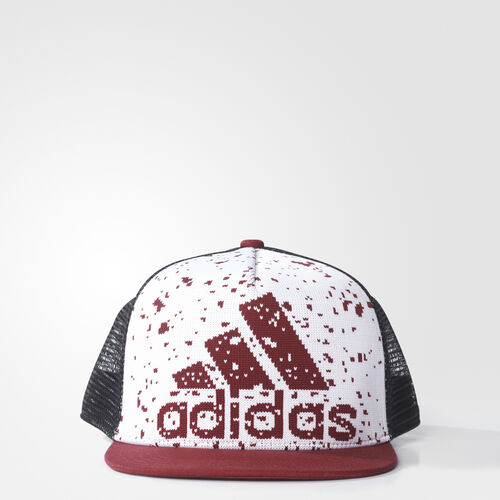 adidas - Primeknit Cap White/Collegiate Burgundy/Black BP7872