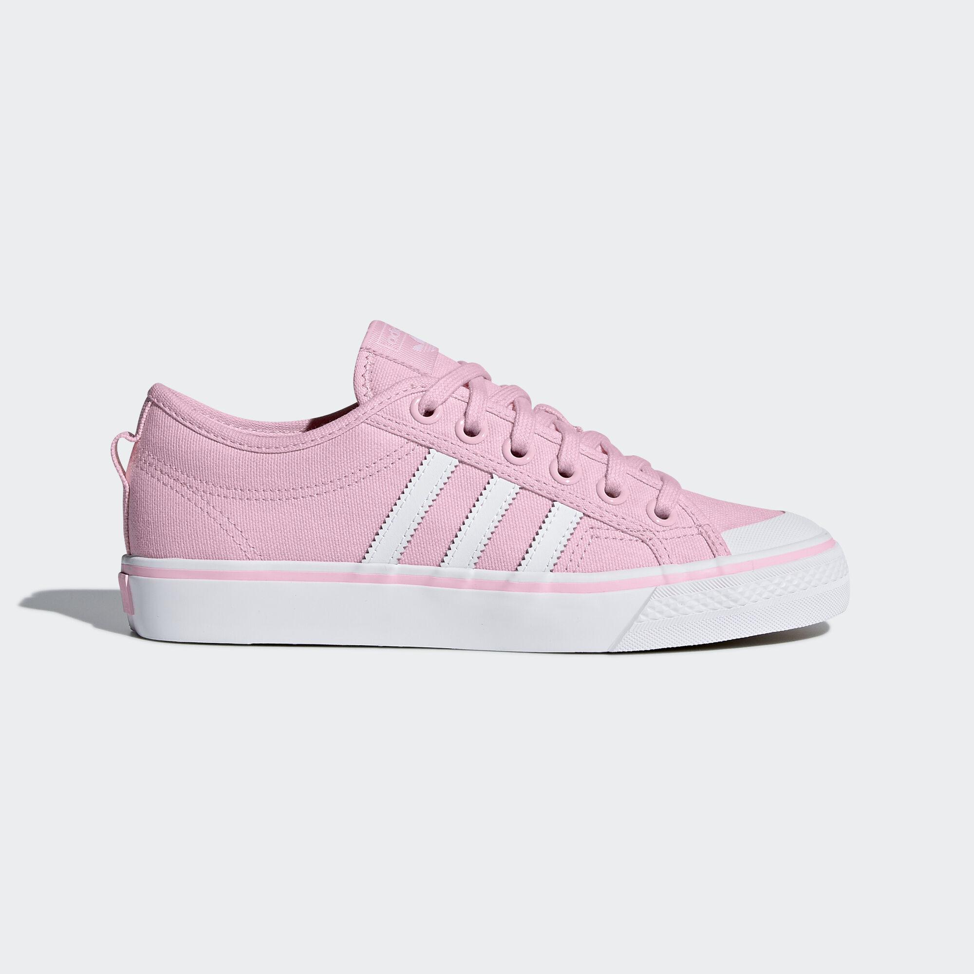 adidas Originals Nizza W Wonder Pink Footwear White Women Casual Shoes CQ2539