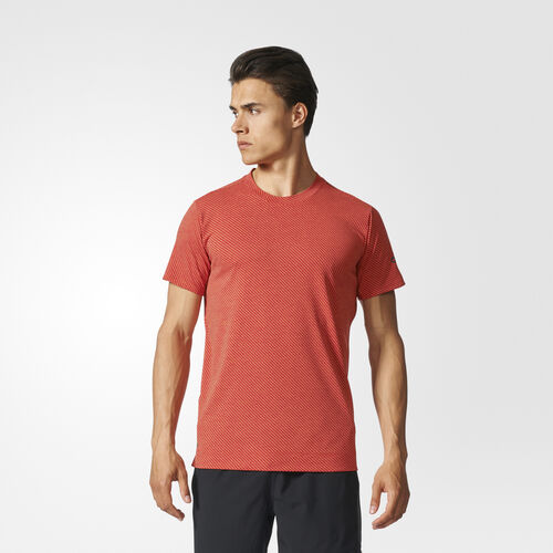 adidas - Climachill Speed Stripes FreeLift Tee Chill Cor Red/Scar Dd/Scarlet BR4149