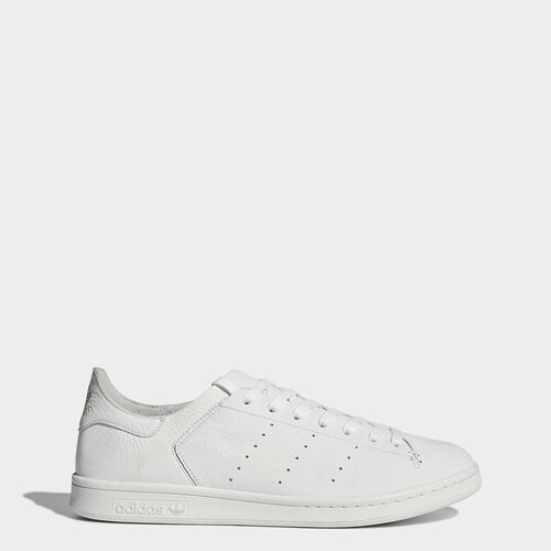 adidas - Chaussure Stan Smith Leather Sock Footwear White/Footwear White/Footwear White BZ0230