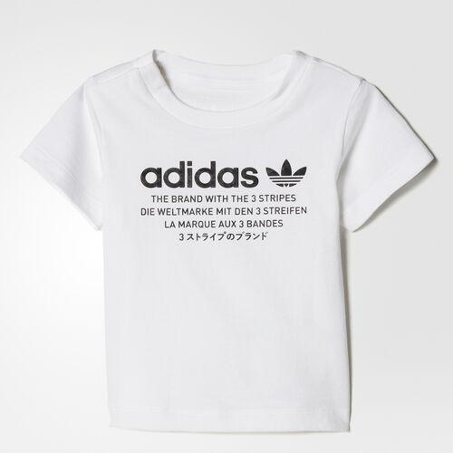 adidas - Tee White/Black BQ4328