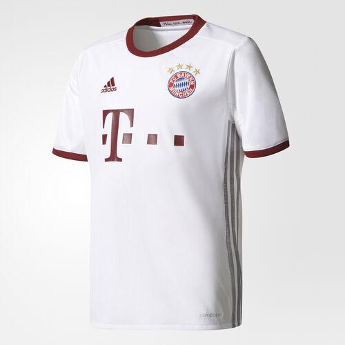 adidas - Maillot FC Bayern Munich UCL Replica White/Light Onix/Collegiate Burgundy AZ4667