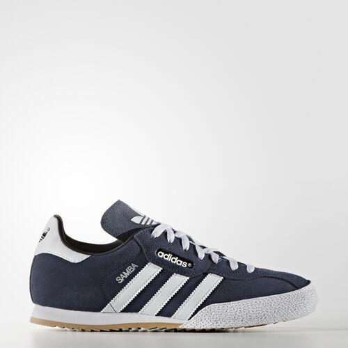 adidas - Samba Super Suede Shoes Navy / Ftwr White 019332