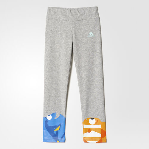 adidas - Disney Dory and Nemo Tights Medium Grey Heather/Ice Green AY6057