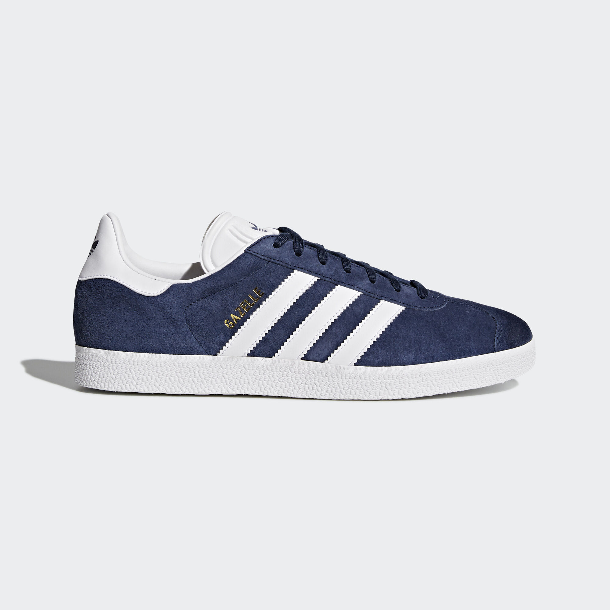 adidas , Chaussure Gazelle Collegiate Navy/White/Gold Metallic BB5478