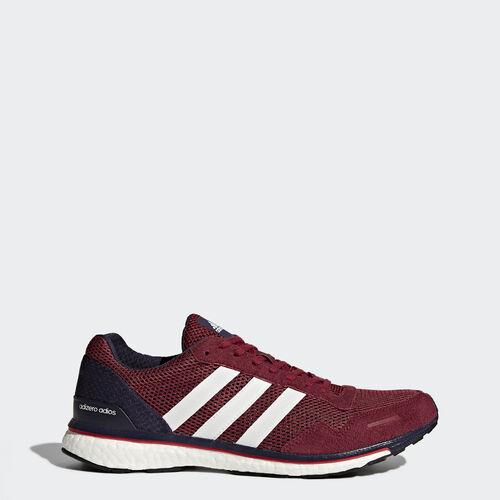 adidas - adizero Adios 3 Shoes Mystery Ruby /Footwear White/Noble Ink BB3315