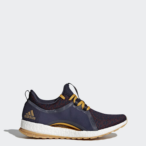 adidas - PureBOOST X All Terrain Shoes Legend Ink /Red Night /Tactile Yellow BY2690