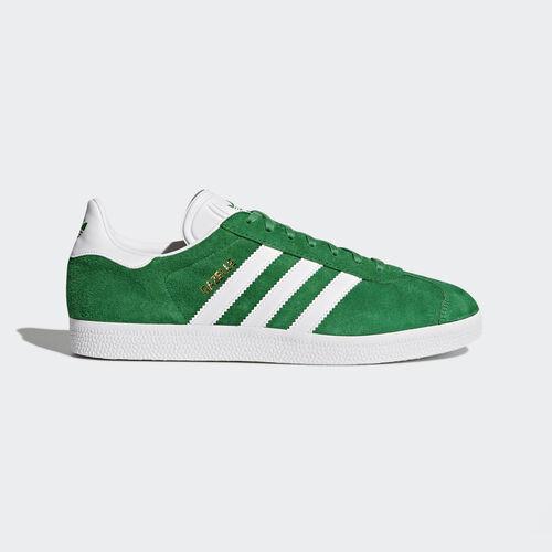adidas - Gazelle Schoenen Green/White/Gold Metallic BB5477