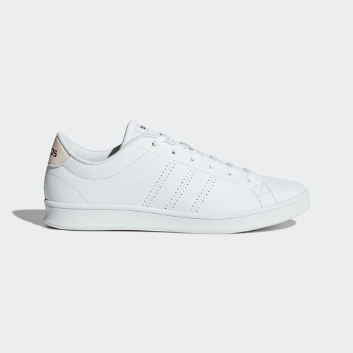 adidas - Chaussure Advantage Clean QT Footwear White/Mystery Ruby BB9611