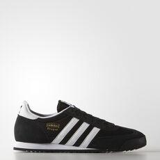 adidas - Dragon Shoes Black / Metallic Gold / White G16025