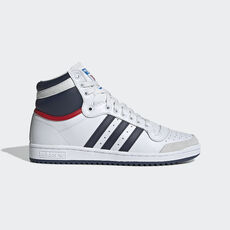 adidas - Top Ten Hi Shoes Neo White / New Navy / Collegiate Red D65161