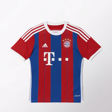 adidas - FC Bayern München Home Replica Player Jersey Fcb True Red / Collegiate Royal / White F48504