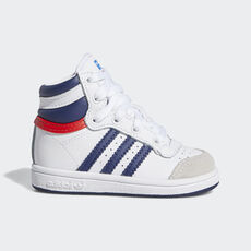 adidas - Top Ten Hi Shoes White / Dark Blue / Red M25303