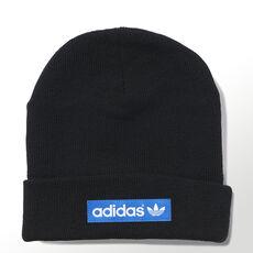adidas - Woven Logo Beanie Black / Bluebird M30728