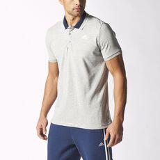 adidas - Sport Essentials Polo Shirt Medium Grey Heather / White S12888