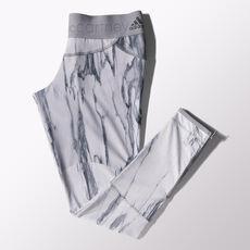 adidas - Run Marble Tights Ice Grey-Smc / Multicolor S16091