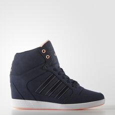 adidas - Super Wedge Shoes Collegiate Navy/Collegiate Navy/Light Flash Orange S15 AQ1541