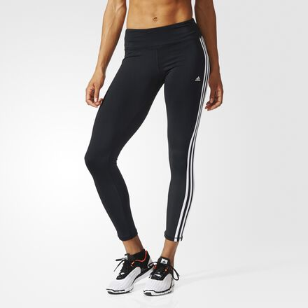 adidas - Basic 3-Stripes Long Tights Black/White AJ9366