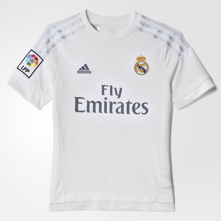 adidas - Real Madrid Home Replica Jersey White / Clear Grey S12659