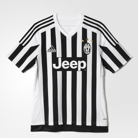 adidas - Juventus Home Replica Jersey White / Black S12867