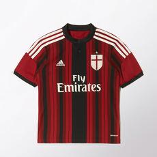 adidas - AC Milan Replica-hemmaspelartröja Black / Victory Red / Core White D87244