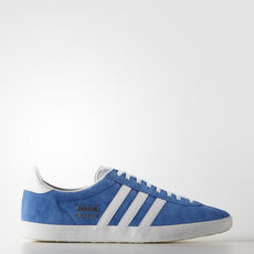 adidas - Gazelle OG skor Air Force Blue / Metallic Gold / White G16183
