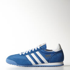 adidas - Dragon skor Bluebird / Metallic Gold / White G50922