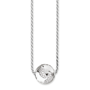 Necklace Baby Footprint