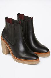 High heel Chelsea black