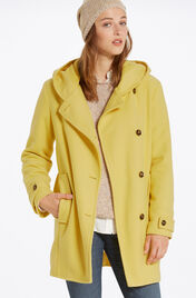 Manteau bright mustard