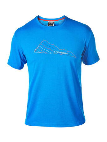 Men's Layered Mountain Tee