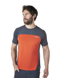 Men's Vapour Short Sleeve Zip Neck T-Shirt