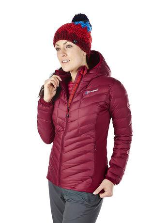 Women's Scafell Stretch Hoody HydroDown Jacket