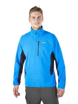 Men's Half Zip Prism Micro Fleece Jacket