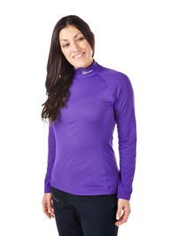 Women's Tech Tee Long Sleeve Zip Neck