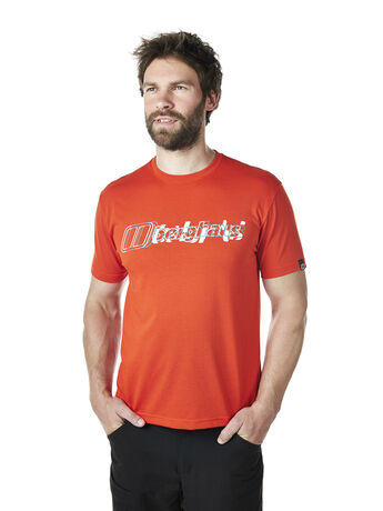 Men's Blurred Lines Berghaus Tee