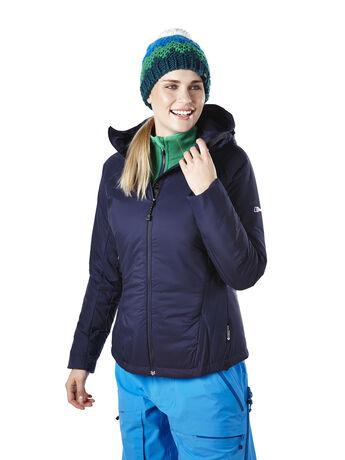 Women's Capucin Insulated Hooded Hydroloft™ Jacket