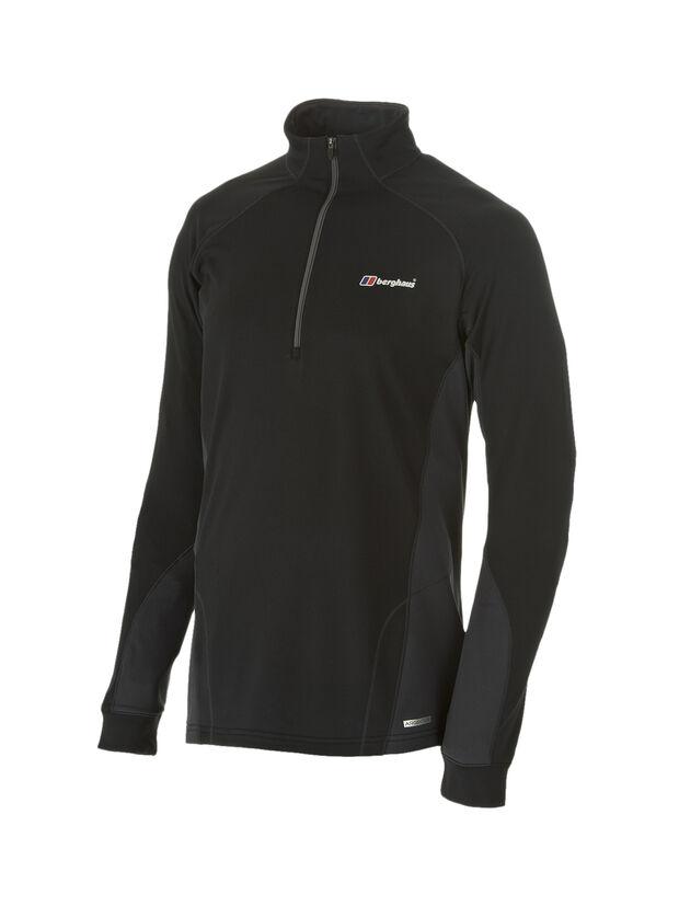 Men's Thermal Long Sleeved Zip Neck Baselayer