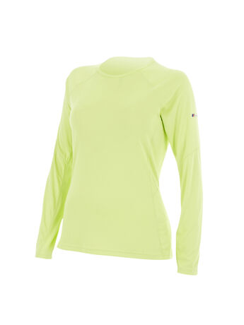 Women's Long-Sleeve Crew Neck Technical T-Shirt