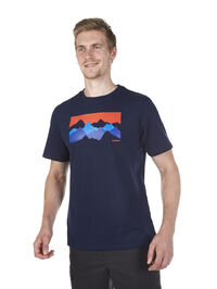 MENS MOUNTAIN GRAPHIC 4 T SHIRT