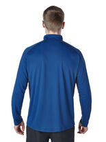 Men's Long Sleeve Zip Neck Tech T-Shirt