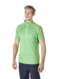 Men's Vapour Zip Neck T-Shirt