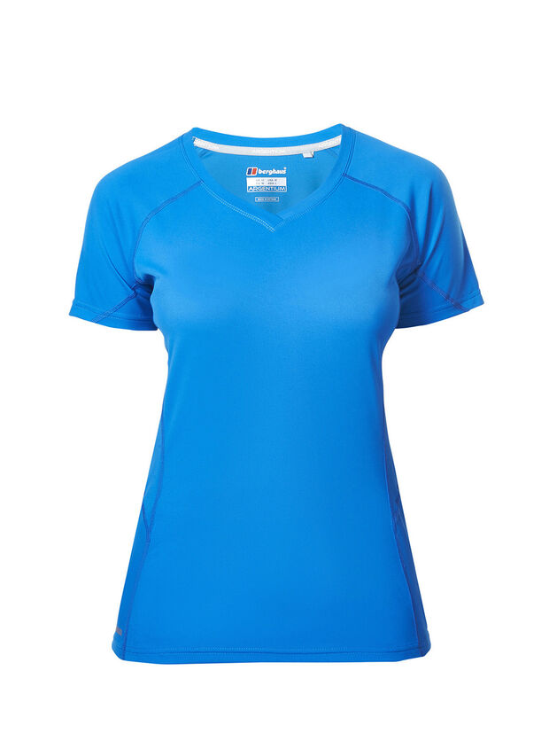 Women's Short Sleeve V Neck Tech T-Shirt