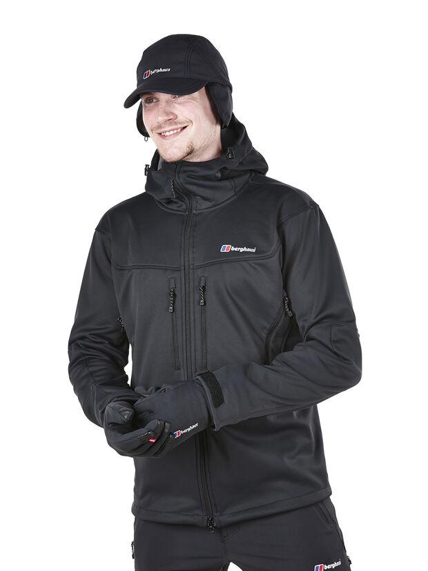 berghaus men 39 s winter valparola softshell jacket shop online. Black Bedroom Furniture Sets. Home Design Ideas