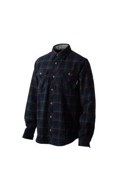 ウールツイルチェックロングスリーブシャツ