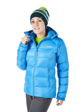 Women's Popena Hooded HydroDown Fusion Jacket
