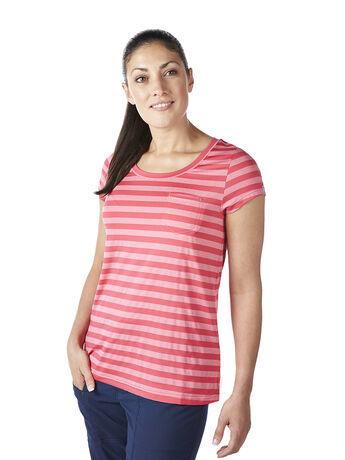 Women's Beam Stripe T Shirt